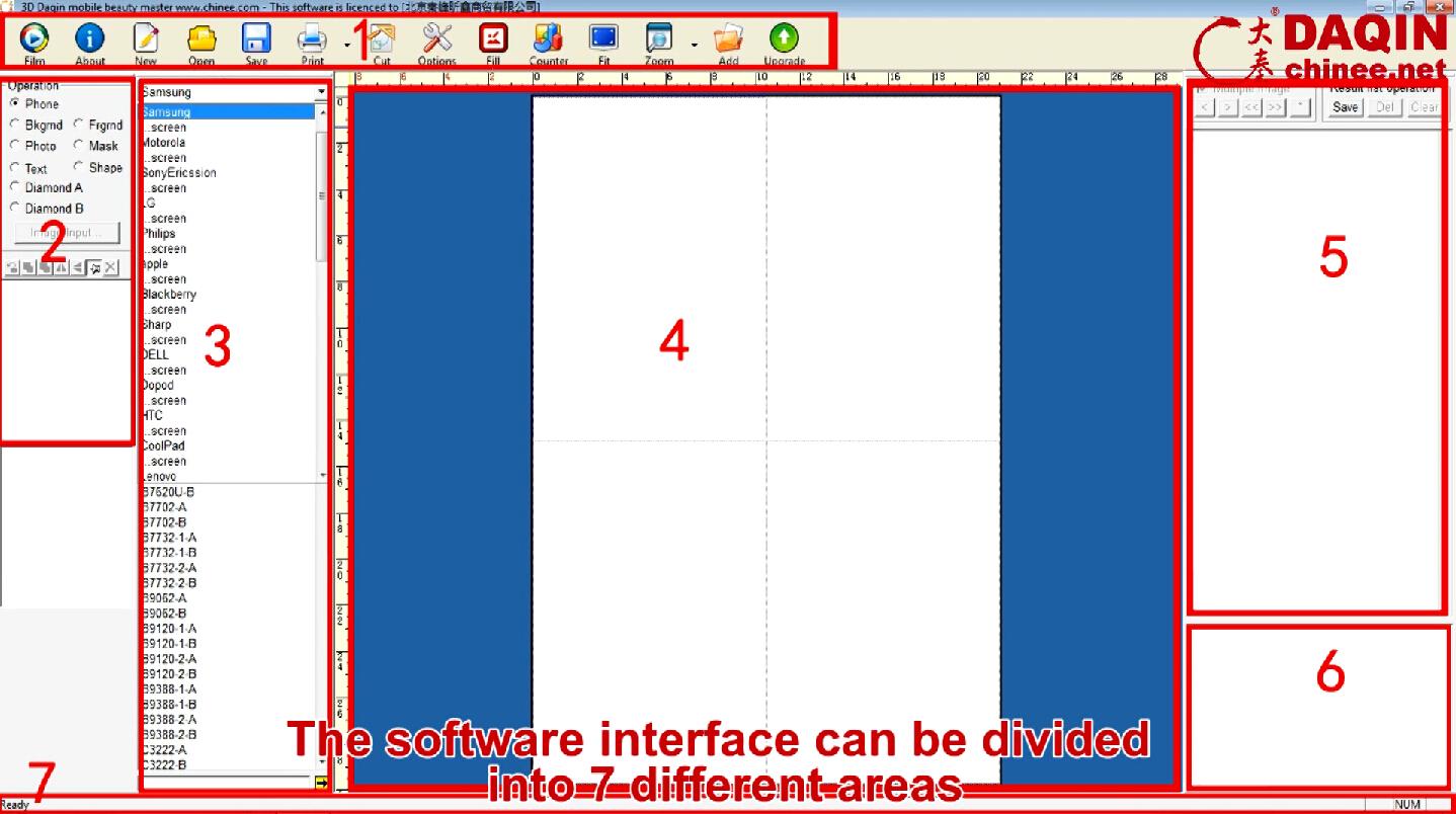 Daqin Custom Sticker Design Master 2015 Custom Mobile Case Machine Custom Phone Case Machine Custom Mobile Sticker System Screen Protector Cutter Chinee Net