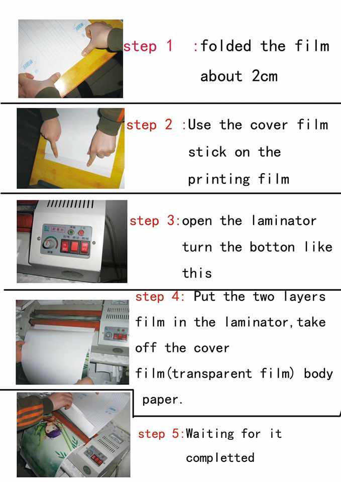 use laminating machine
