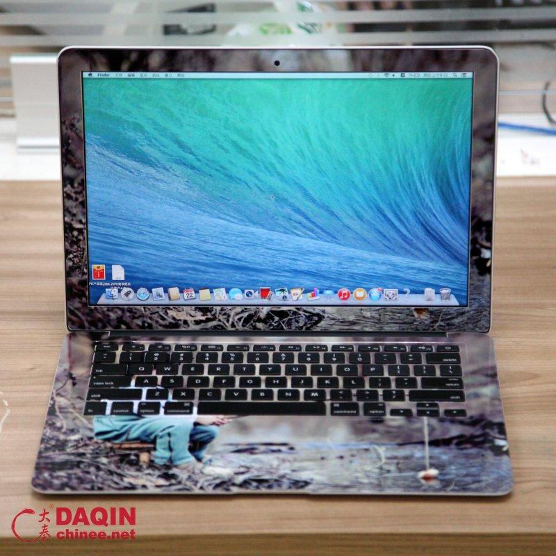 Custom laptop sticker for mac book mobile case machine