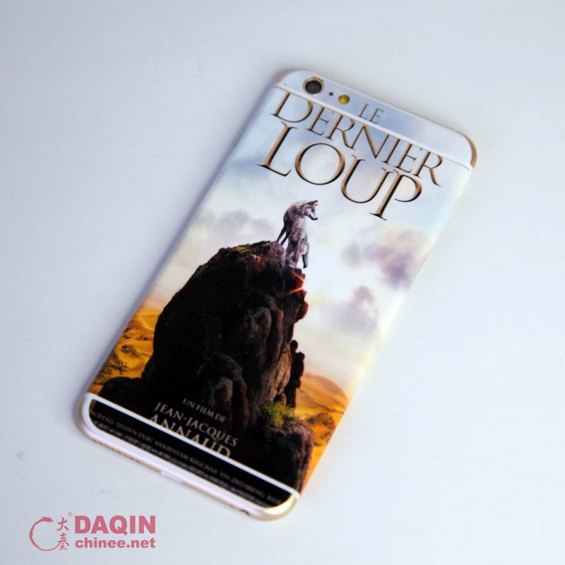 Above wolf totem stickers for iphone 6 plus are made by the daqin mobile sticker machine more information about the daqin mobile sticker machine