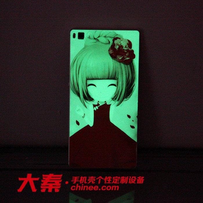 luminous cellphone skin