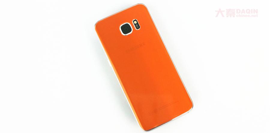 orange samsung s7 edge