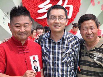 CCTV Presenter custom cartoon phone case for fans following