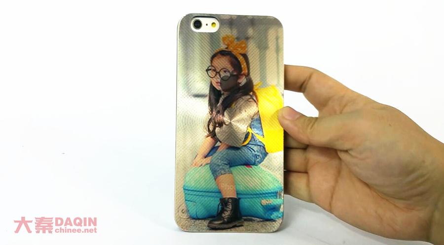 iPhone 6 plus laser shining case