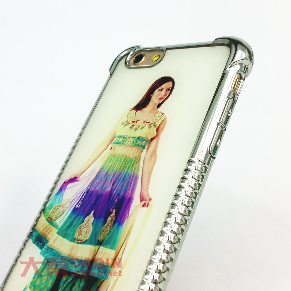 iPhone 6/6S custom metal frame anti-slip anti-shock cas